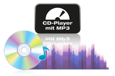 CD player with MP3 function